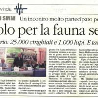 Secondo l'assessore all'agricoltura in Basilicata ci sarebbero 1000 lupi.