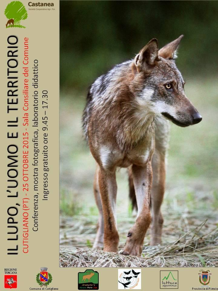 Conferenza Il Lupo, l'Uomo e il Territorio – Cutigliano 25 ottobre 2015