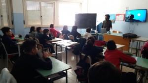 Fabio Quinto a scuola