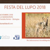 Festa del lupo 2018 – Save the date